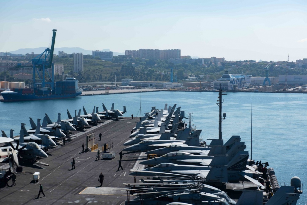April 2019 – Marseille welcomed the US Navy !